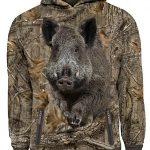 Hoodie-Wild-boar