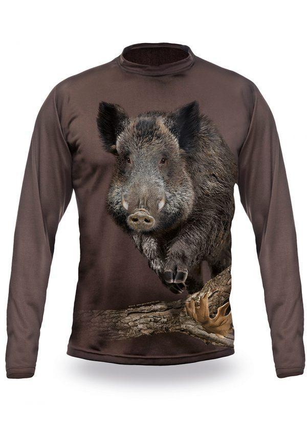 Running-Boar-Long-Sleeve-OAK